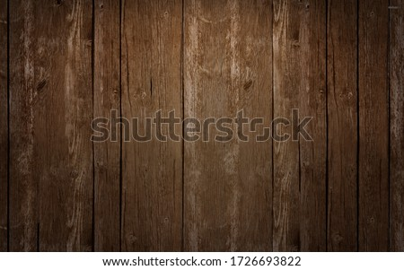 vintage dark teak wooden texture background. topview