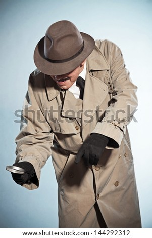 Vintage Detective With...