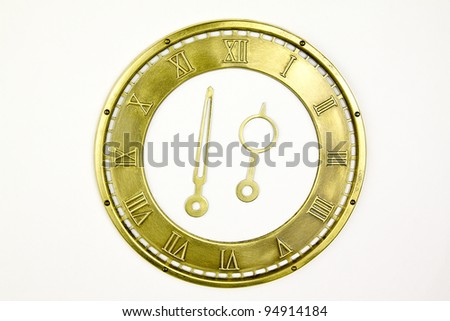 vintage dial  isolated