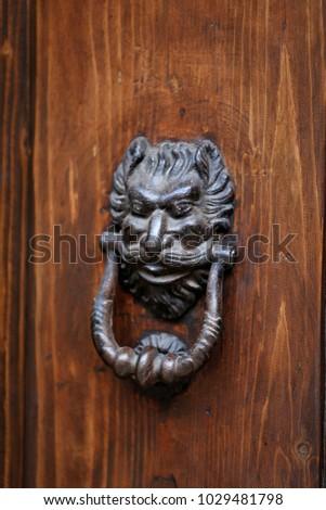 Vintage doorknob Bologna Italy