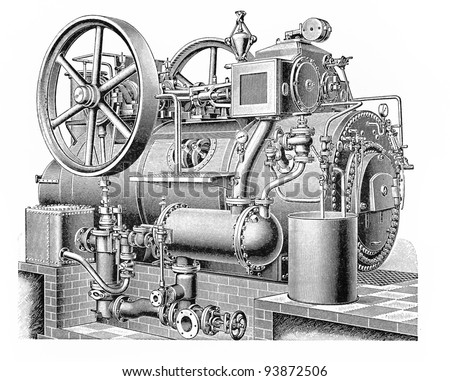 vintage drawing of a...