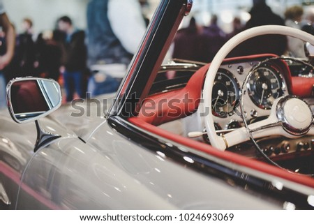 Vintage Dreamcar from a german motorshow.
