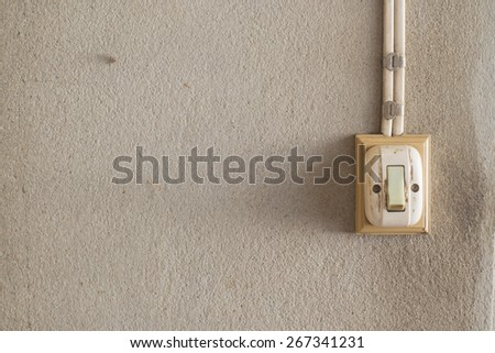 vintage electric switch