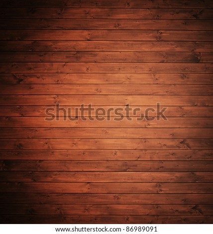 vintage elegant wood panels used as background.