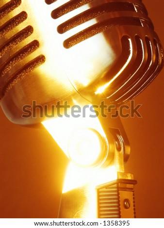 Vintage Elvis Microphone