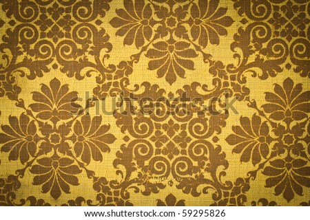 Vintage Fabric texture background.