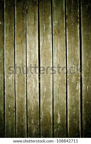 vintage fence color green background