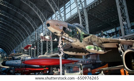 vintage fighter airplanes at...