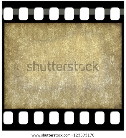 Vintage film background - stock photo