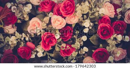 stock photo vintage flowers 179642303 - Каталог — Фотообои «Цветы»