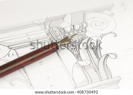 vintage fountain pen  ...