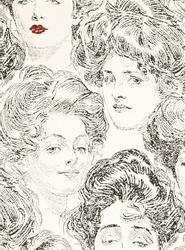 vintage girls portraits