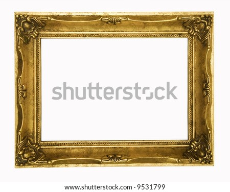 Vintage gold ornate frame, similar available in my portfolio