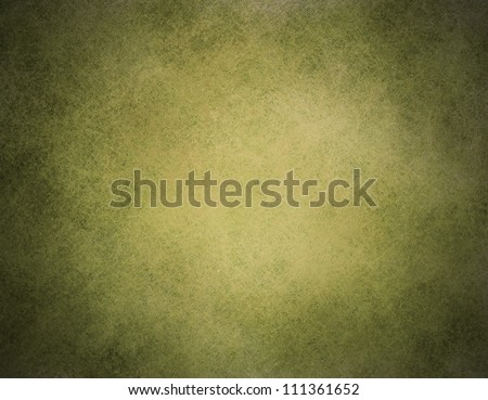 vintage green background illustration design on old black faded grunge background texture layout of light center and dark vignette edges abstract olive background paper for brochure ad or web template