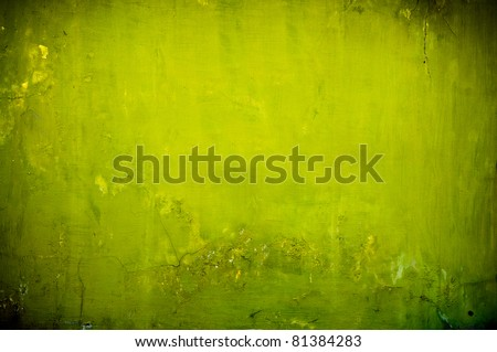 vintage green textured background with artistic shadows added