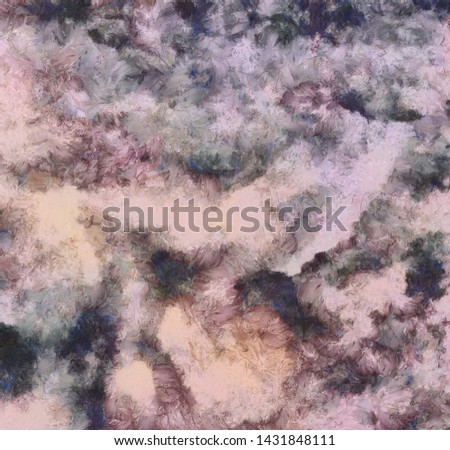 Vintage grunge background texture, abstract fancy oil pattern, shape colorful backdrop, simple design template in pastel color tones, close up macro concrete. HD wallpaper. Stock.