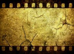Vintage grunge film strip background