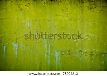 vintage grunge green background with artistic shadows added