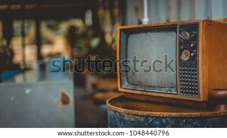 Vintage Grunge Television