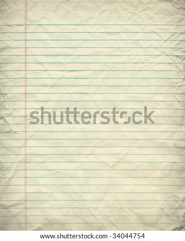 Vintage Grungy Lined Paper
