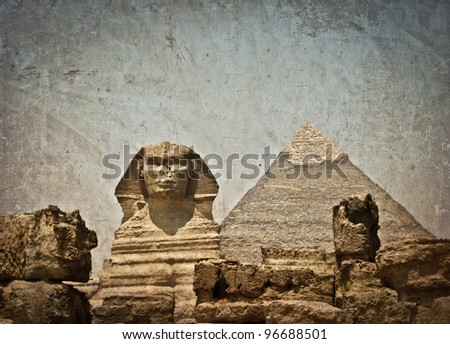 stock-photo-vintage-image-of-great-sphinx-and-khafre-pyramid-of-giza-egypt-96688501.jpg