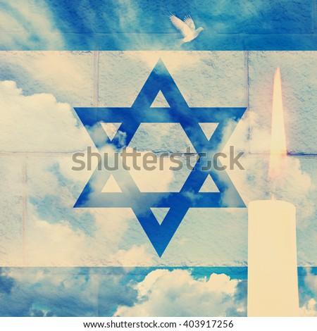 vintage image of israeli...