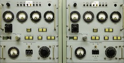 Vintage instrument panel