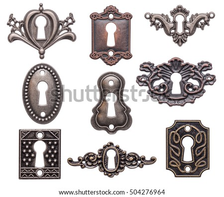 vintage keyholes collection...