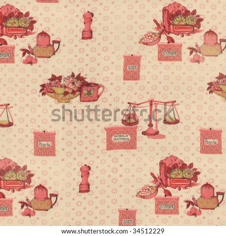kitchen towel vintage