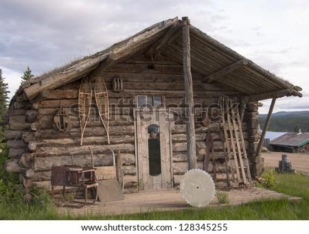vintage Klondike cabin