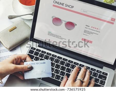 Vintage Lifestyle Minimalist Femininity E-shopping Concept