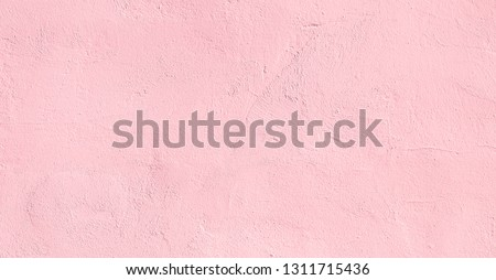 Vintage light pink plaster Wall Texture. Pastel Background. Abstract Painted Wall Surface. Stucco Background With Copy Space For design