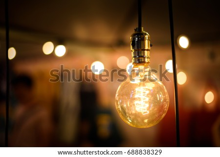 vintage lighting bulb decor  ...