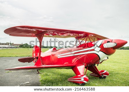 Vintage little plane: A Pitts S-2B Special. The Pitts biplanes dominated world aerobatic competition in the 1960s and 1970s.
