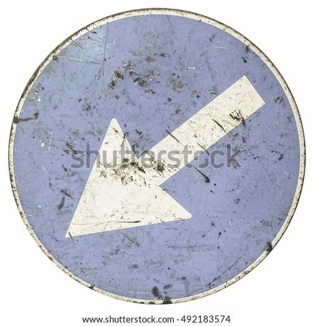vintage looking arrow sign...