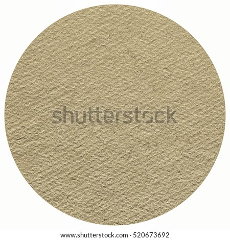 Vintage looking Blank cardboard beermat for a pint of beer isolated over white background