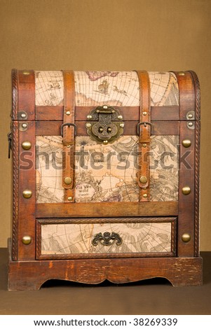 Vintage luggage chest locations