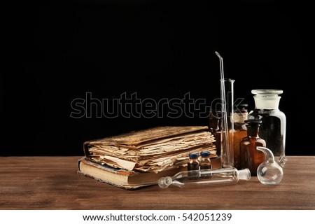 vintage medicine bottles and...