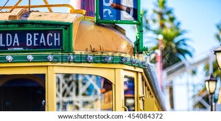 Vintage Melbourne W-Class Tram Images