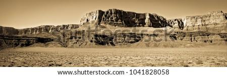 Vintage mesa formation