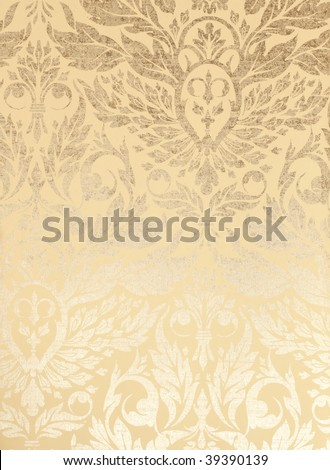 metallic wallpaper. vintage metallic wallpaper
