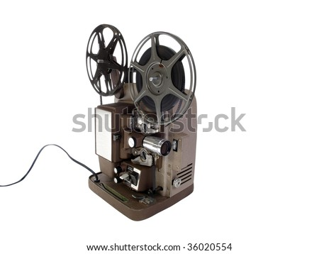 Vintage 8 mm Film Projector in mint condition.