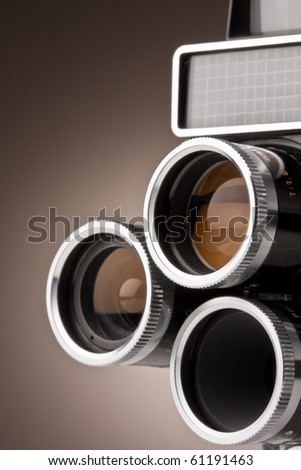 Vintage Movie Camera Lenses