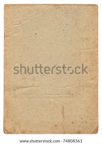 Vintage old cardboard background