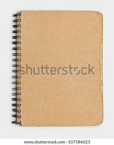 Vintage Old Notebook Paper