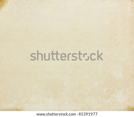 Vintage old paper texture for background