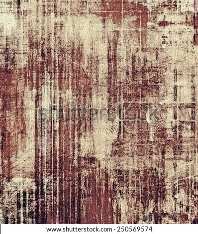 Vintage old texture with space for text or image, distressed grunge background. With different color patterns: yellow (beige); brown; gray; black