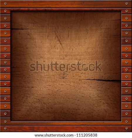 Old Wooden Picture Frames Vintage Old Wooden Frame