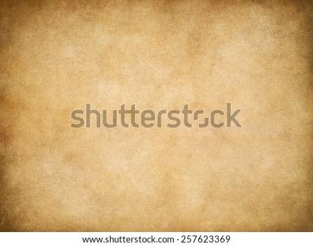 Vintage old worn paper texture background