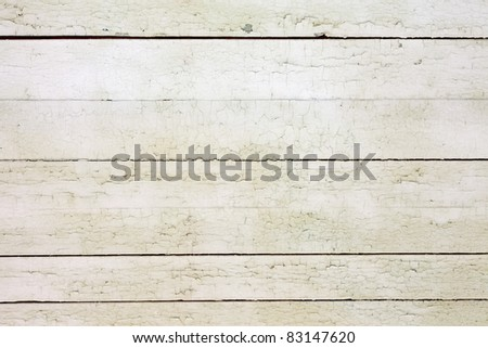 Vintage or grungy white background of natural wood or wooden old texture as a retro pattern layout. It is a concept, conceptual or metaphor wall banner for time, grunge, material, aged, rust.
